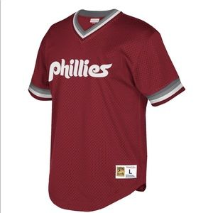 NWT Mitchell & Ness Phillies Cooperstown Jersey